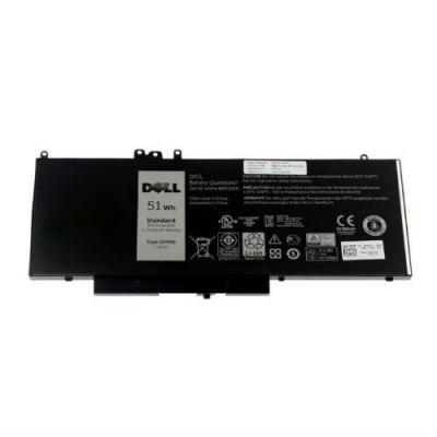 Dell batterij: 4-Cell 51Whr - Zwart