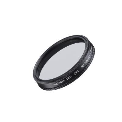 Walimex camera filter: Polarising CPL filter, 40mm, glass - Zwart, Transparant