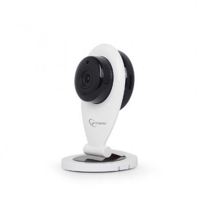 Gembird 1/4'' CMOS, 1 MP, 48 dB, WiFi Webcam - Zwart, Wit