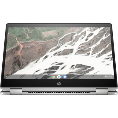 Hp laptop: Chromebook x360 14 G1 - Zilver