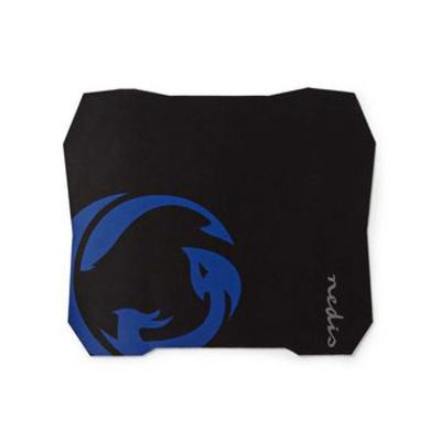 Nedis Gaming-Muismat, Antislip en Waterbestendige Onderkant, 287 x 244 mm Muismat - Zwart, Blauw