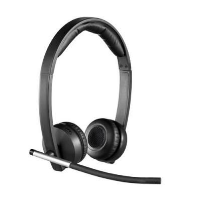 Logitech headset: H820e Wireless Headset Dual - Zwart
