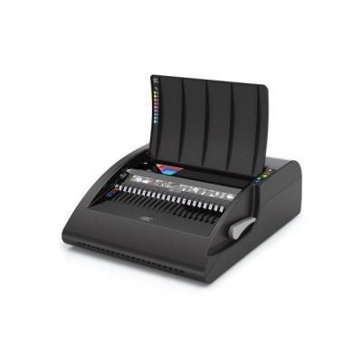Gbc inbindmachine: C210E Elektrische Pons-Bindmachine voor Plastic Bindruggen - Zwart