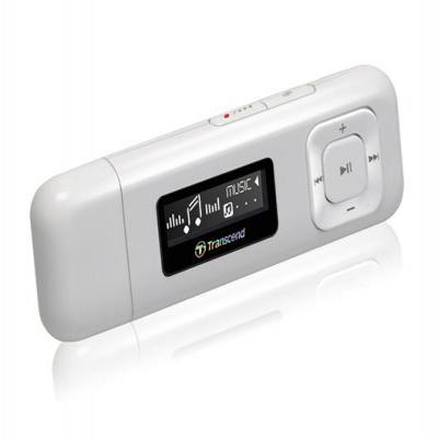 Transcend MP3 speler: MP330 8GB - Wit
