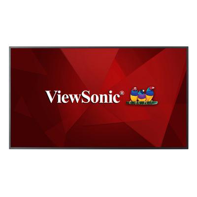Viewsonic CDE6510 Public display - Zwart