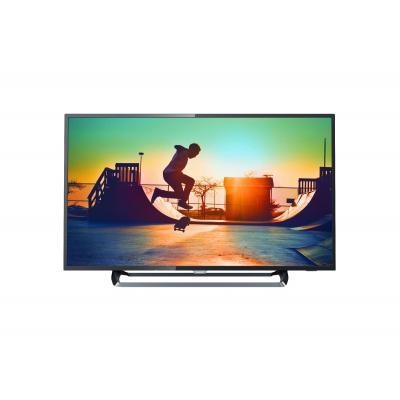 Philips led-tv: 6000 series Ultraslanke 4K Smart LED-TV 55PUS6262/12 - Zwart