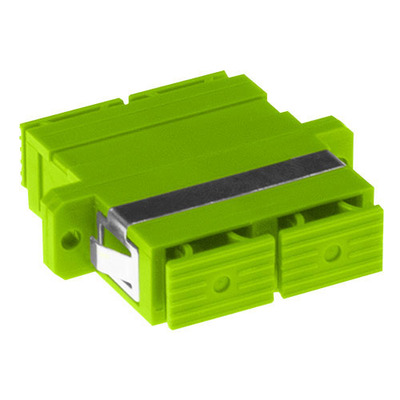 ACT SC-SC, OM5, Lime green Fiber optic adapter - Groen, Limoen