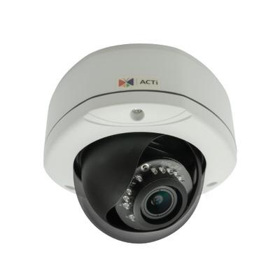 ACTi E82A Beveiligingscamera - Zwart, Wit