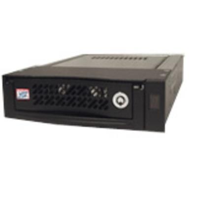 CRU DE110, Carrier Only, SATA 3Gb/s Drive bay - Zwart