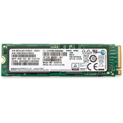 HP 512-GB TLC PCIe 3x4 NVMe M.2 solid-state schijf SSD