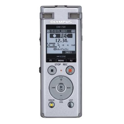 Olympus voice recorder: DM-720 - Zilver