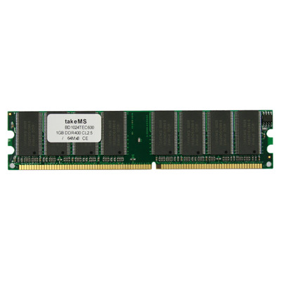 TakeMS DDR 1Gb PC 3200 RAM-geheugen