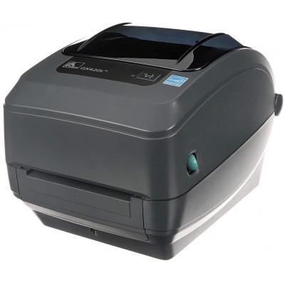 Zebra GX420t TT - USB - Ethernet Labelprinter - Grijs