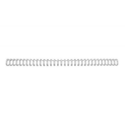 Gbc inbinder: WireBind 34 rings Draadruggen A4 - Zilver