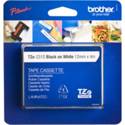 Brother labelprinter tape: TZE-231S
