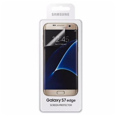 Samsung screen protector: DISP-F SAS7E FG935CT - Transparant