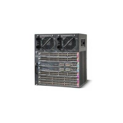 Cisco netwerkchassis: WS-C4507R+E - Zwart