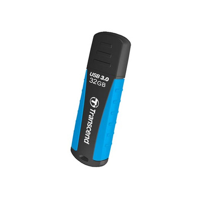 Transcend JetFlash 810 32GB USB 3.0 USB flash drive - Zwart,Blauw