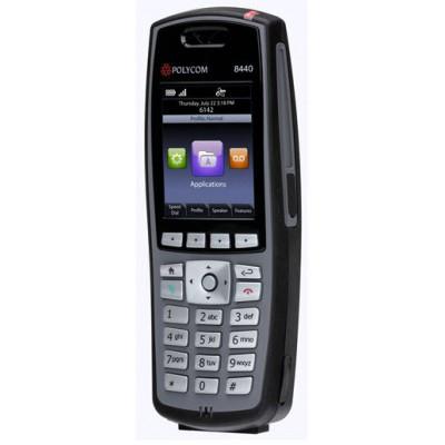 Spectralink telephone headset: 8441 - Zwart