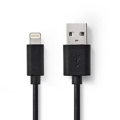 Nedis AWG 32 / 24, 1 m, PVC, USB - 2.0 - Zwart