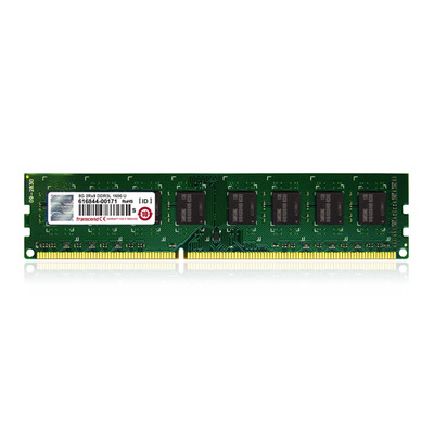 Transcend 2GB DDR3L 1600 U-DIMM 1Rx8 RAM-geheugen