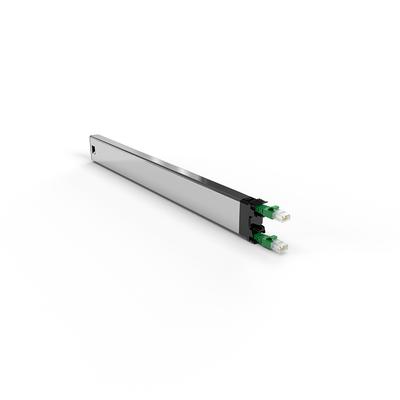 PATCHBOX ® 365 Cat.6a Cassette (STP, Green, 0.8m / 8RU) Netwerkkabel - Groen