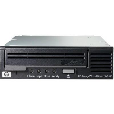 Hewlett packard enterprise tape autoader: HP StoreEver LTO-4 Ultrium 1760 SAS Internal WW Tape Drive - Zwart
