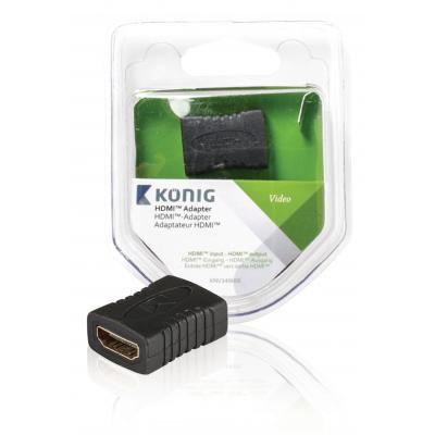 Hq kabel: HQ, HDMI koppeling HDMI input - HDMI input (Antraciet)