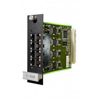 Agfeo telefonie switch: T-708 - Zwart, Groen