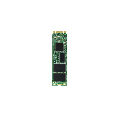 Transcend MTS820 SSD - Zwart, Groen