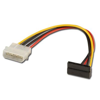 Lindy 0.15m SATA Power Adapter Cable - Multi kleuren