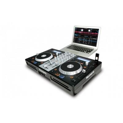Numark dj mixer: 3-Channel DJ Controller w/ CD & USB Playback, 2 x Mic In, 1 x Aux In, USB, XLR Out, 2 x RCA Out, Cue - .....