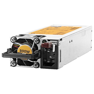 Hewlett Packard Enterprise HP 800W Flex Slot Platinum Hot Plug Power Supply Kit Power supply .....