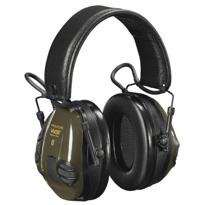 Peltor WS SportTac Headset - Zwart, Groen