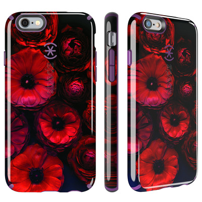 Speck INKED Mobile phone case - Zwart, Paars, Rood