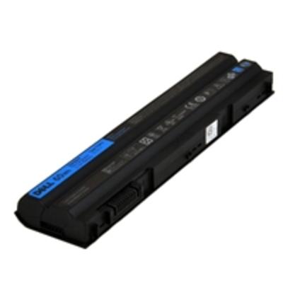 DELL Battery Primary 60WHR 6C Notebook reserve-onderdeel - Zwart