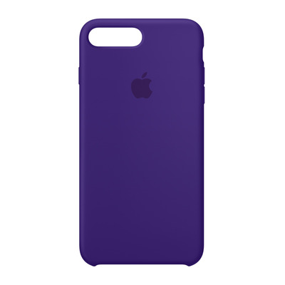 Apple mobile phone case: Siliconenhoesje voor iPhone 8 Plus/7 Plus - Paarsblauw - Violet