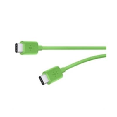 Belkin USB kabel: 6ft, 2xUSB2.0-C - Groen