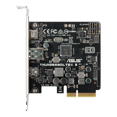 Asus interfaceadapter: ThunderboltEX 3