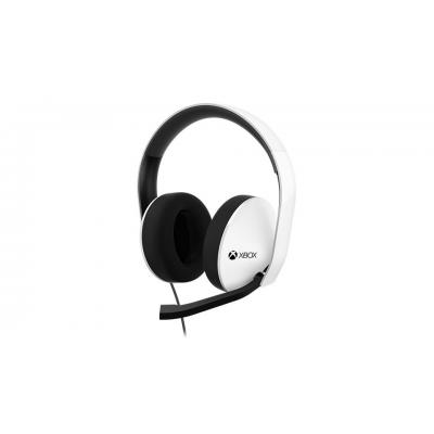 Microsoft headset: Xbox Stereo Headset - Special Edition, 20Hz-20kHz, white/black - Zwart, Wit