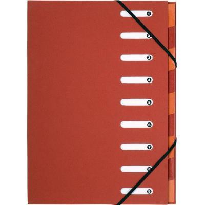 Exacompta organixer: Forever, A4, Gerecycleerd papier, Rood