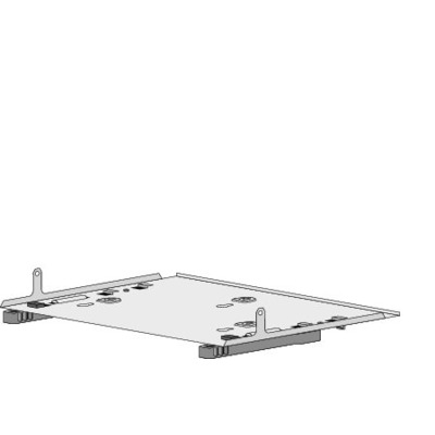 Cisco DIN Rail Mount for 3560-C and 2960-C compact switches Montagekit