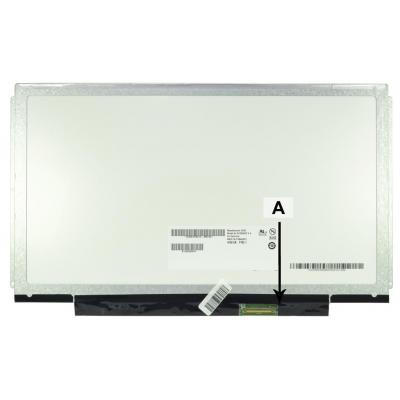 2-power notebook reserve-onderdeel: 13.3 HD 1366x768 LED Matte Screen - replaces 18201055 - Zwart