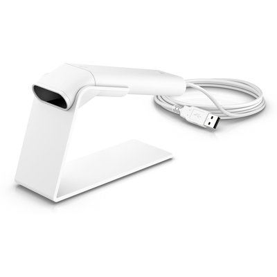 HP Engage One Prime White Barcode scanner - Wit