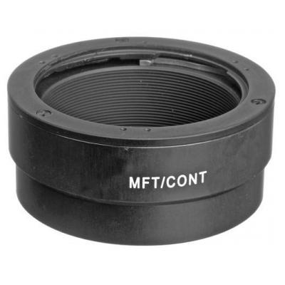 Novoflex Adapter Contax/Yashica lenses to MicroFourThirds Lens adapter - Zwart
