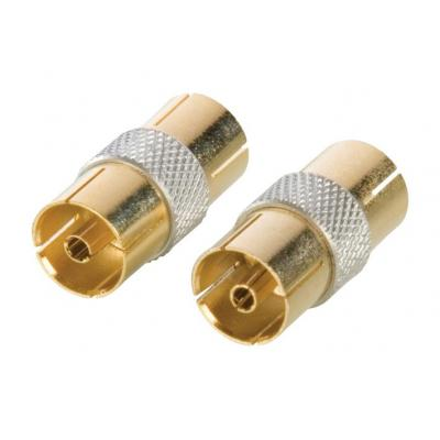 Hq coaxconnector: Coaxial Coupler Female - Female
