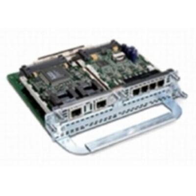 Cisco Two-slot IP Communications Enhanced Voice/Fax Network Module voice network module