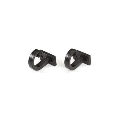 Black Box Cable Hook, Plastic Rack toebehoren - Zwart