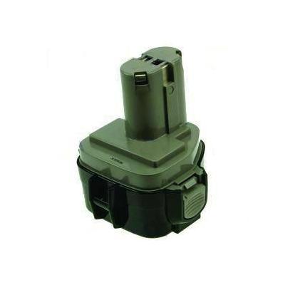 2-power batterij: PTH0053A - NiMH, 14.4V, 3000mAh, 950g, black/green - Zwart, Groen