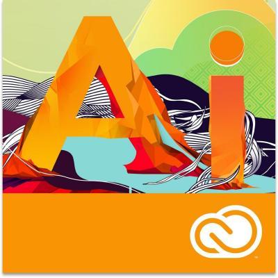 Adobe desktop publishing: Illustrator CC - meertalig - 1 jaar